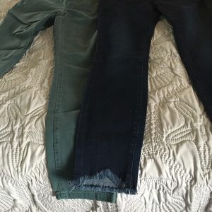 Denim - Two pairs of Loft jeans! Brand new